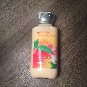 Mango Mandarin Bath & Body Works lotion